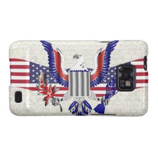 Patriotic American eagle Samsung Galaxy S2 Case