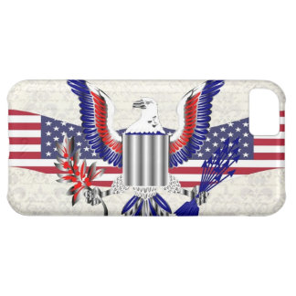 Patriotic American eagle iPhone 5C Cover