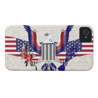 Patriotic American eagle Case-Mate iPhone 4 Case