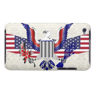 Patriotic American eagle Barely There iPod Cover