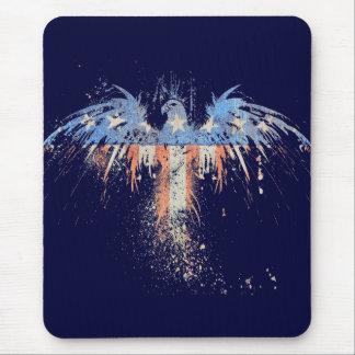 Patriotic American Eagle Flag Mouse Pad