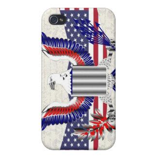 Patriotic American eagle iPhone 4 Case