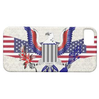 Patriotic American eagle iPhone SE/5/5s Case