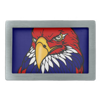 Patriotic American eagle Rectangular Belt Buckle