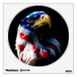 Patriotic American Eagle Room Graphic