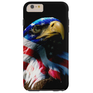 Patriotic American Eagle Tough iPhone 6 Plus Case