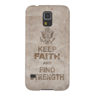 Patriotic American Faith and Strength Galaxy S5 Case