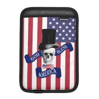 Patriotic American flag iPad Mini Sleeves