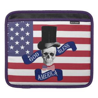 Patriotic American flag iPad Sleeve