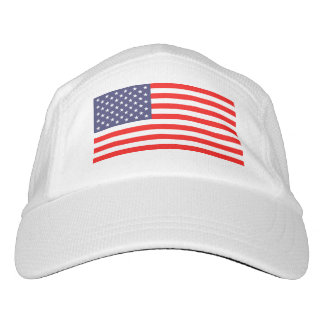 Patriotic American flag knit or woven sports hats