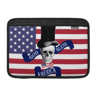Patriotic American flag MacBook Sleeve