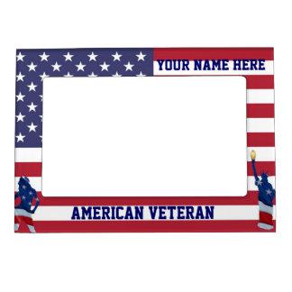 Patriotic American flag Magnetic Frame