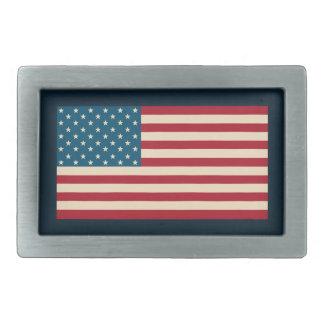Patriotic American Flag Men's Belt Buckle Gift