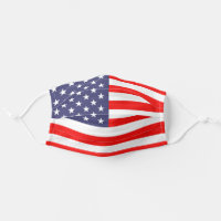 Patriotic American flag of the United States Cloth Face Mask