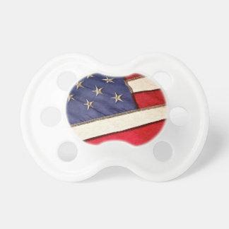 Patriotic American Flag Pacifier