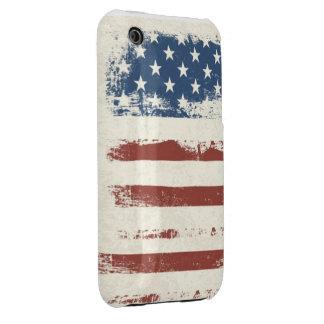 PATRIOTIC AMERICAN FLAG PHONE CASE Case-Mate iPhone 3 CASES