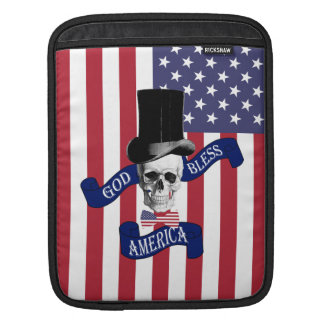 Patriotic American flag Sleeves For iPads