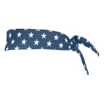 Patriotic American flag star pattern headband