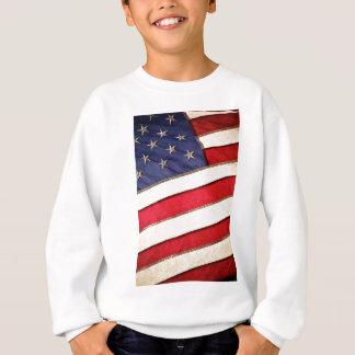 Patriotic American Flag Sweatshirt