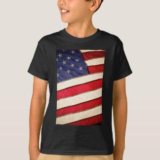 Patriotic American Flag T-Shirt