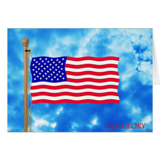 Patriotic American Flag T-Shirts and Gifts Card