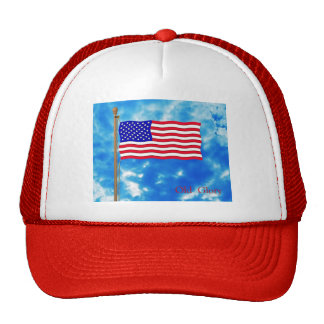 Patriotic American Flag T-Shirts and Gifts Trucker Hat