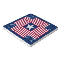 Patriotic American Flag Trivet