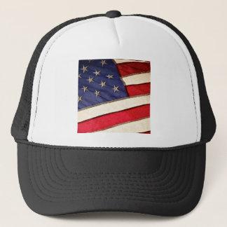 Patriotic American Flag Trucker Hat