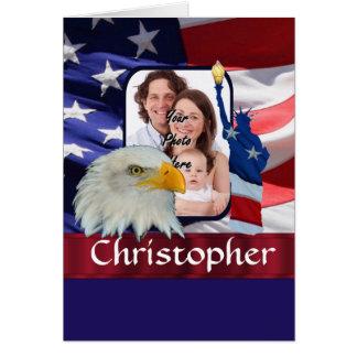 Patriotic American Icon photo template