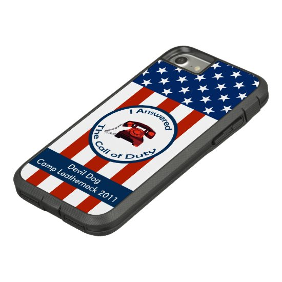 [Patriotic American]  Military Veteran I Answered Case-Mate Tough Extreme iPhone 7 Case