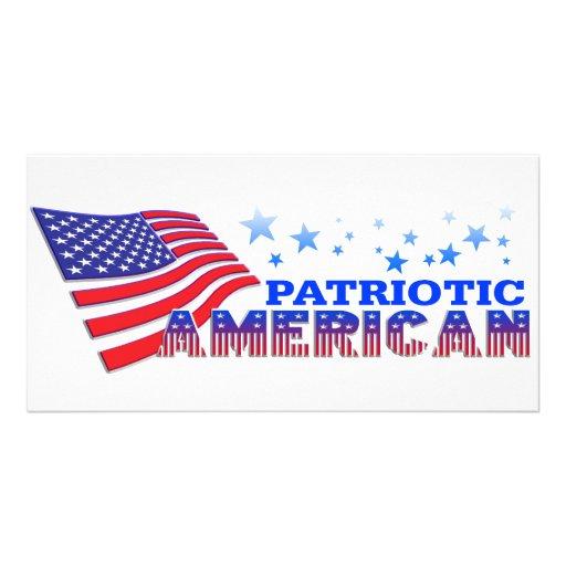Patriotic American Photo Card