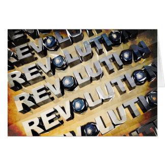 Patriotic American Revolution Card