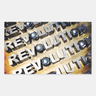Patriotic American Revolution Rectangular Sticker