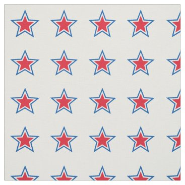 USA Themed Patriotic  American Star Fabric