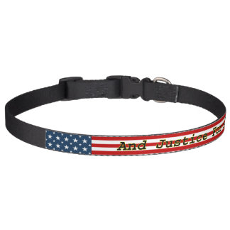 [Patriotic American] Stars N Stripes U.S. Flag Pet Collar