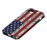 Patriotic American U.S.A. Flag of United States iPhone 5 Covers