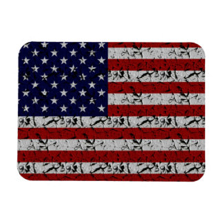 Patriotic American U.S.A. Flag of United States Magnet