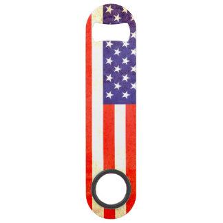 Patriotic American US flag bottle opener