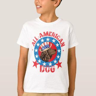 Patriotic American Water Spaniel T-Shirt