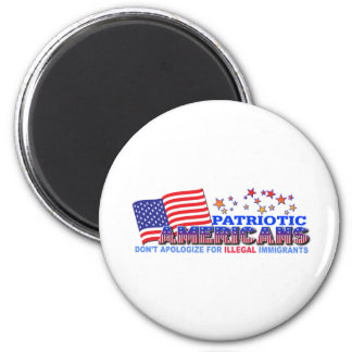 Patriotic Americans Don't Apologize #1 Magnet