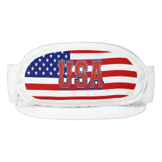 Patriotic and Cool U.S.A and American Flag Visor