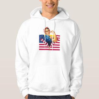Patriotic AND Feminist Sweatshirt