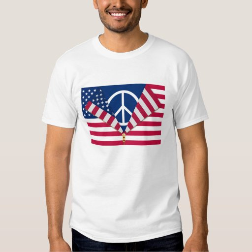 Patriotic AND Pro-Peace T Shirt