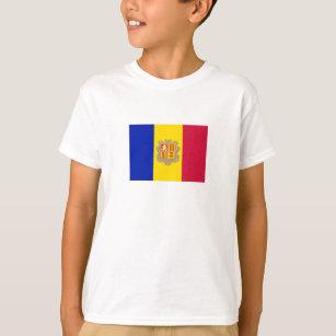 Patriotic Andorra Flag T-Shirt