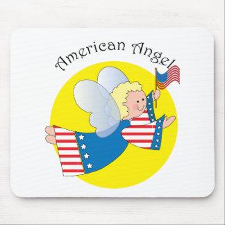 Patriotic Angel 1 Mouse Mat