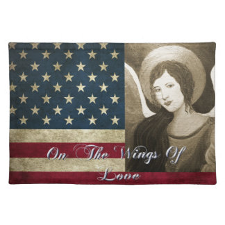 Patriotic Angel Placemat