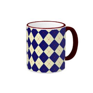 Patriotic Argyle Mug