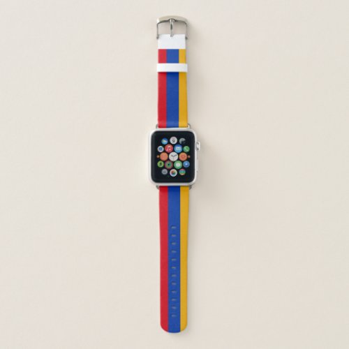 Patriotic Armenian Flag Apple Watch Band