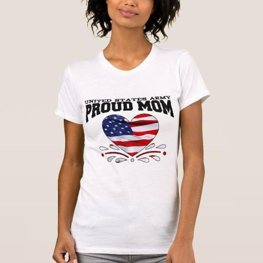 Patriotic Army Mom T-Shirt