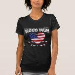 Patriotic Army Mom T-shirts